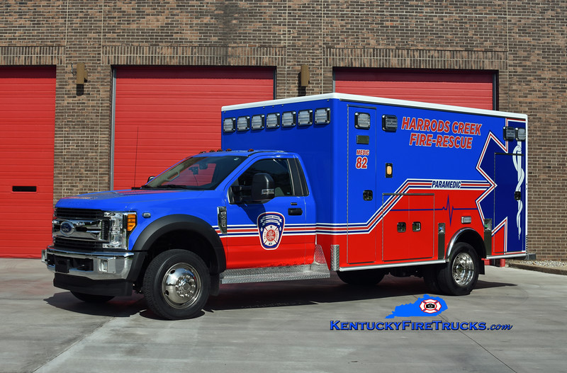 Harrods Creek  Medic 1282<br /> 2017 Ford F-450 4x4/Medix <br /> Kent Parrish photo