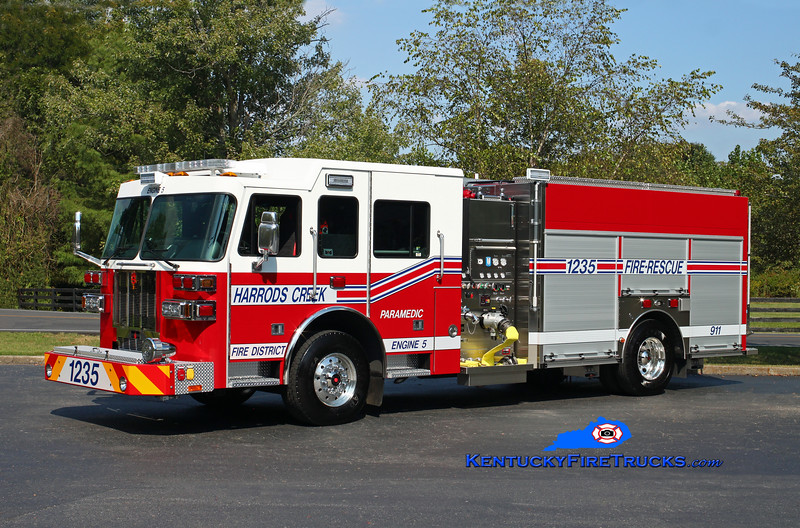 Harrods Creek  Engine 1235<br /> 2016 Sutphen/Custom Fire 1500/600<br /> Kent Parrish photo