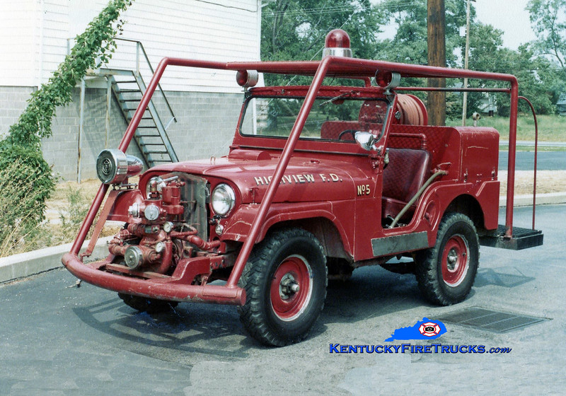 RETIRED <br /> Highview Brush 1175 <br /> 1960 Jeep Willys 4x4/Howe 400/70<br /> Kent Parrish collection