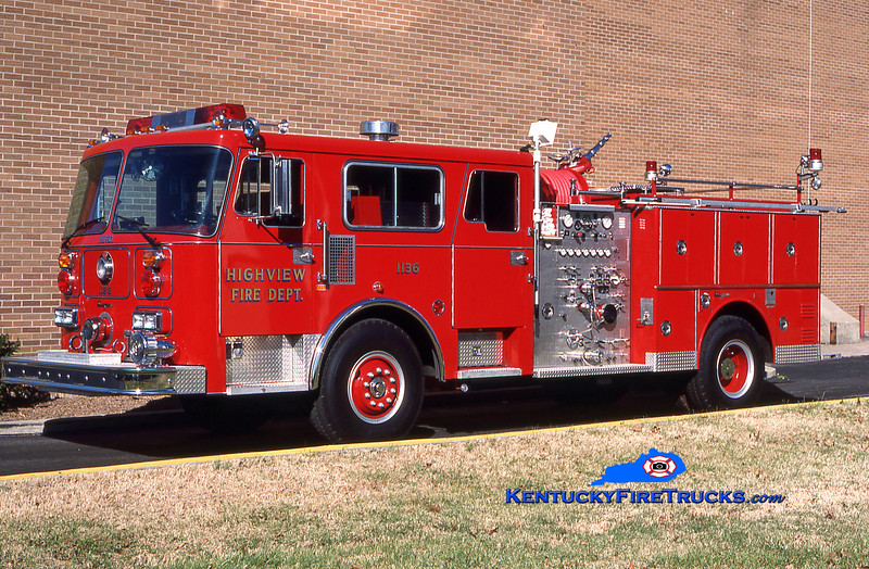 PRIVATELY OWNED <br /> Highview Engine 1136 <br /> 1987 Seagrave Commander 1500/500 <br /> Kent Parrish collection