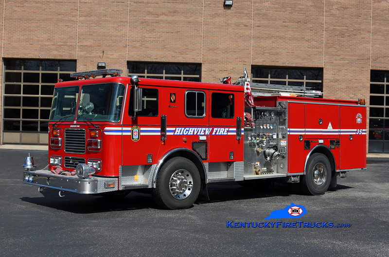 Highview Engine 1135<br /> 1999 Seagrave Marauder 1500/750<br /> Kent Parrish photo