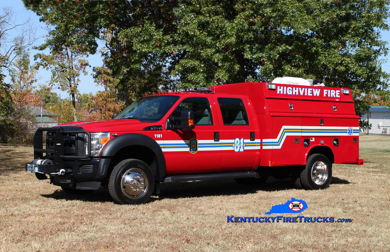 Highview Rescue 1181<br /> 2010 Ford F-550 4x4/Reading-Manning<br /> Kent Parrish photo