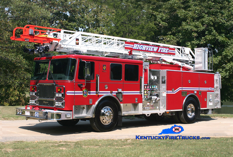 Highview Quint 1151<br /> 2008 Seagrave Marauder II 1500/500/75' Meanstick<br /> Kent Parrish photo