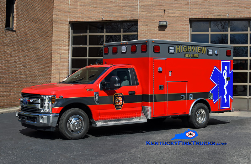 Highview Medic 1185<br /> 2019 Ford F-350 4x4/Frontline<br /> Kent Parrish photo