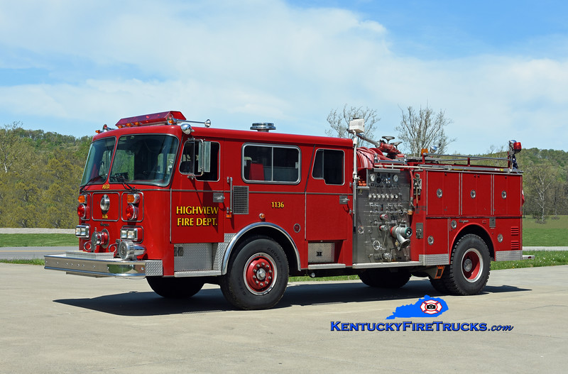 PRIVATELY OWNED<br /> Highview Engine 1136 <br /> 1987 Seagrave Commander 1500/500<br /> Kent Parrish photo