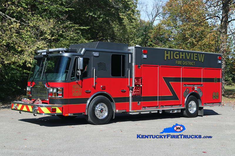 Highview  Rescue 1188<br /> 2017 Ferrara Cinder 2000/500<br /> Kent Parrish photo