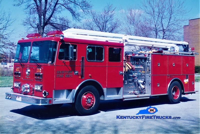 RETIRED <br /> Highview Squrt 1131 <br /> 1991 Seagrave Commander 1500/500/54' Squrt <br /> Greg Stapleton photo