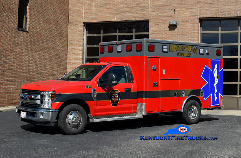 Highview Medic 1184<br /> 2019 Ford F-350 4x4/Frontline<br /> Kent Parrish photo