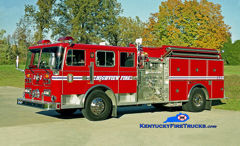 RETIRED<br /> Highview Engine 1133<br /> 1994 Seagrave Commander 1500/1000<br /> Kent Parrish photo