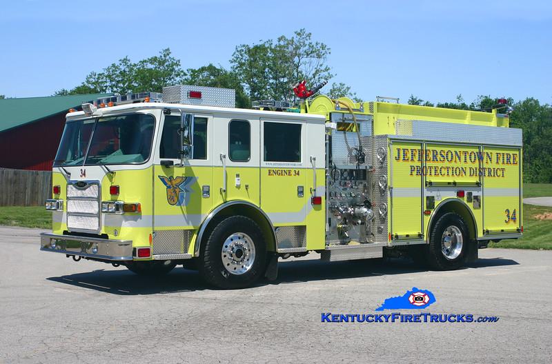 Jeffersontown Engine 3334<br /> 2008 Pierce Arrow XT 2000/750<br /> Kent Parrish photo