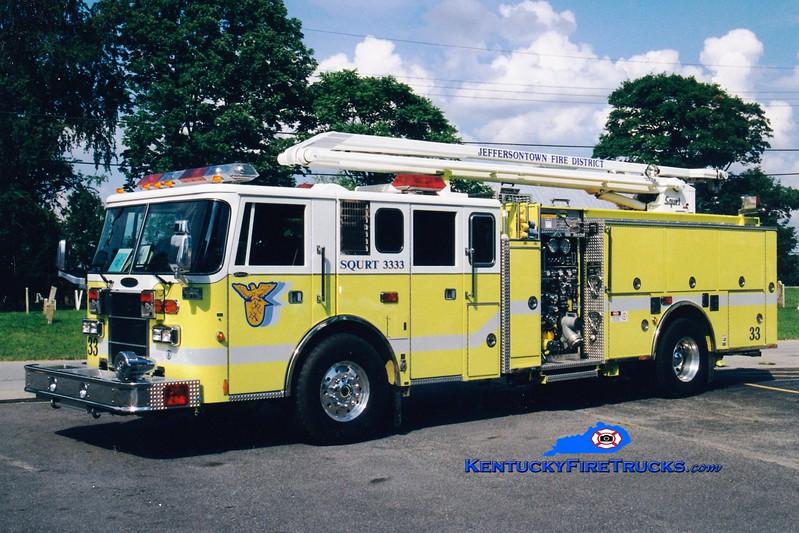 <center> RETIRED <br> Jeffersontown  Squrt 3333 <br> 1993 Pierce Lance 1750/500/54' Squrt  <br> Greg Stapleton photo </center>