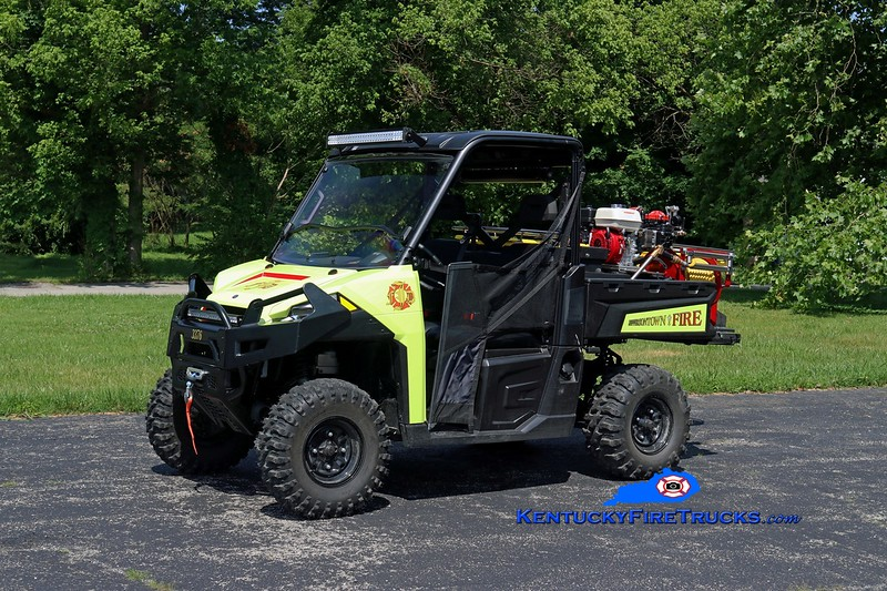 Jeffersontown  Forestry 3376<br /> 2017 Polaris Ranger 570 4x4/Custom Composites/JFD 125/50<br /> Kent Parrish photo
