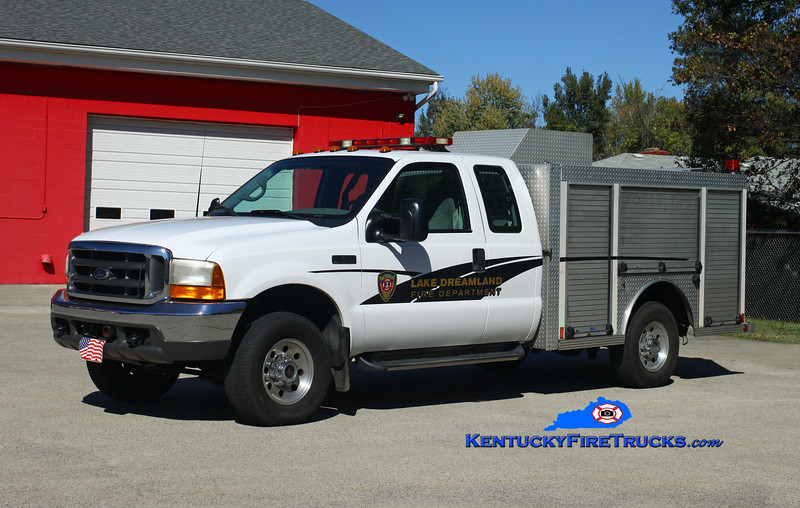 NOW WITH PLEASURE RIDGE PARK <br /> Lake Dreamland  Hazmat 4089<br /> x-Equipment Dealer Sales Truck <br /> 2000 Ford F-350/Central States<br /> Kent Parrish photo