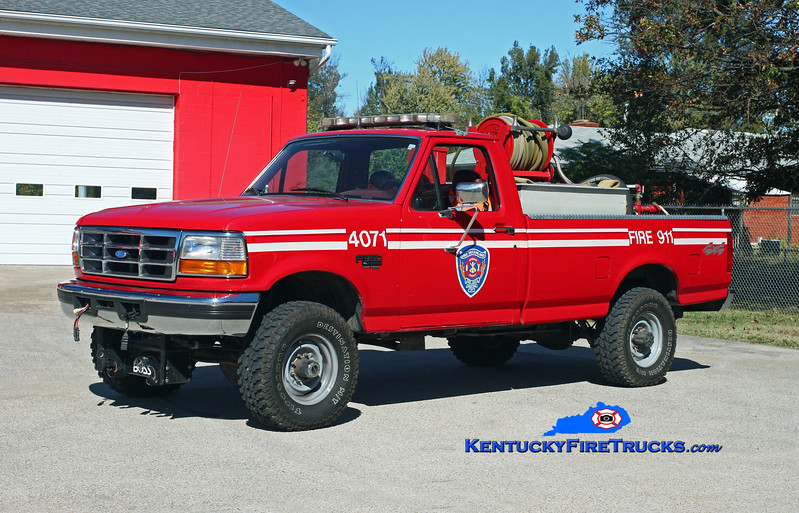 NOW WITH PLEASURE RIDGE PARK <br /> Lake Dreamland  Forestry 4071<br /> 1997 Ford F-350 4x4/FD 250/200<br /> Kent Parrish photo