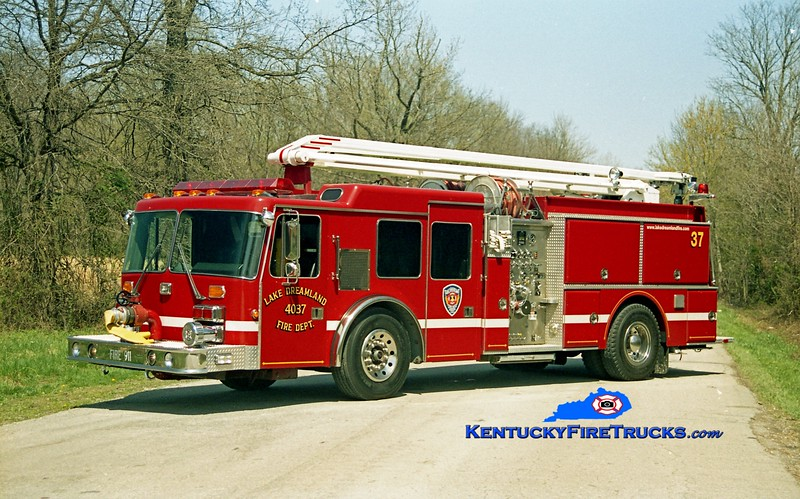 <center> RETIRED <br> Lake Dreamland  Squrt 4037 <br> 1992 HME/Grumman Panther 1500/500/54'  <br> Kent Parrish photo </center>