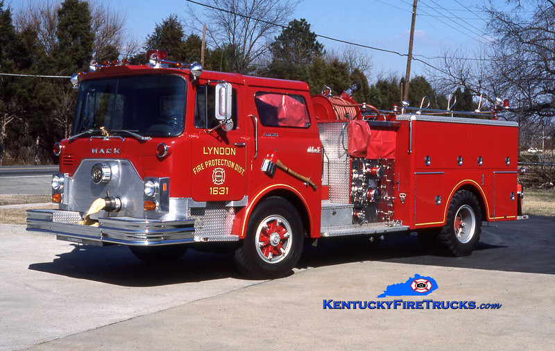 RETIRED<br /> Lyndon Engine 1631<br /> 1977 Mack CF 1500/500<br /> Kent Parrish collection