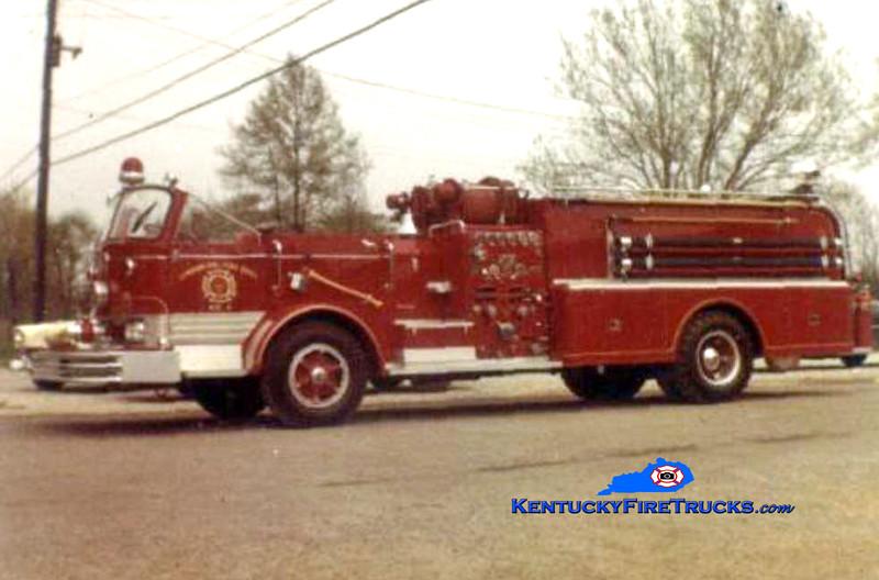 RETIRED <br /> Lyndon Quad 1644<br /> 1959 Mack C 750/300<br /> Kent Parrish collection