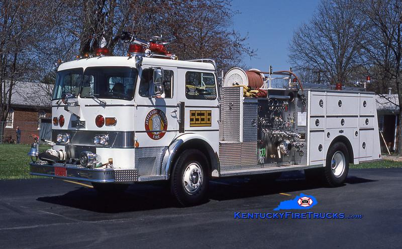 RETIRED<br /> McMahan Engine 5536<br /> 1978 Pirsch 1750/300<br /> Kent Parrish collection