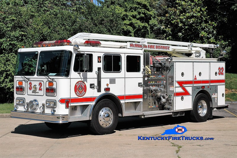 PRIVATELY OWNED <br /> McMahan Squrt 5532<br /> 1994 Seagrave JB 1500/500/54' Squrt<br /> Greg Stapleton photo