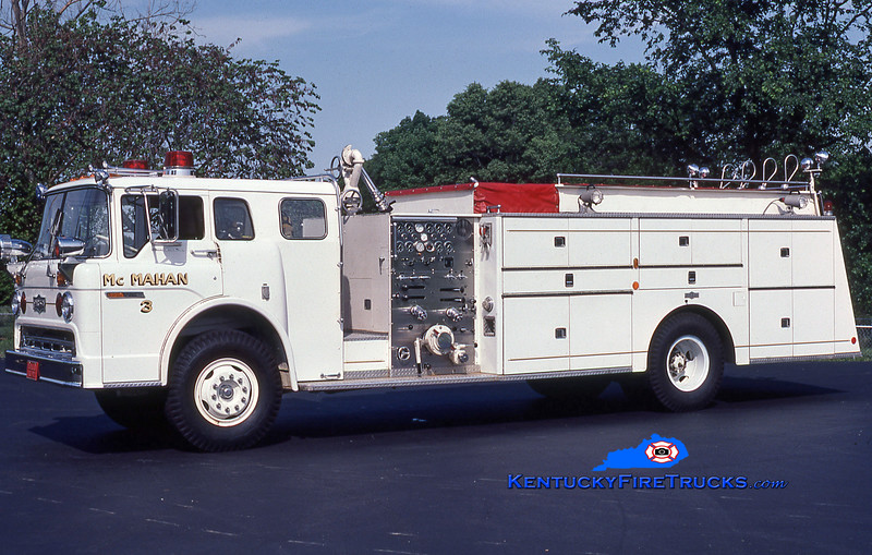 RETIRED<br /> McMahan Quad 5543<br /> 1973 Ford C-900/Pirsch 1000/500<br /> Kent Parrish collection