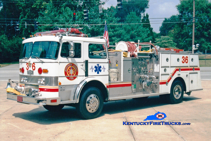 <center> RETIRED <br> McMahan Engine 5536 <br> 1978 Pirsch 1750/300 <br> Greg Stapleton photo <center>