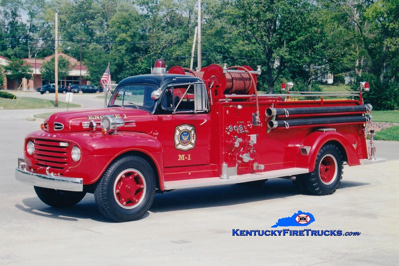 ANTIQUE <br /> Middletown Engine M-1 <br /> x-Engine 6621 <br /> 1950 Ford F-7/Boyer 500/500<br /> Greg Stapleton photo
