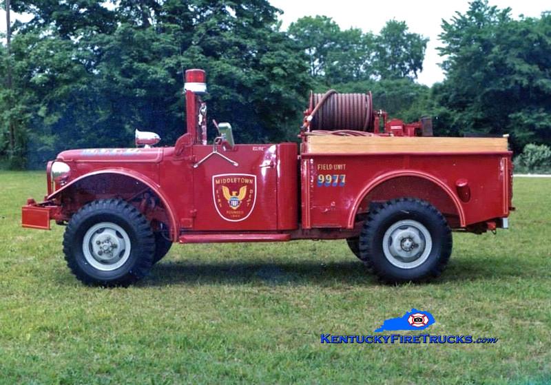 RETIRED<br /> Middletown Brush 9977<br /> 1963 Dodge M37 4x4/FD 100/200<br /> Kent Parrish collection/MFD