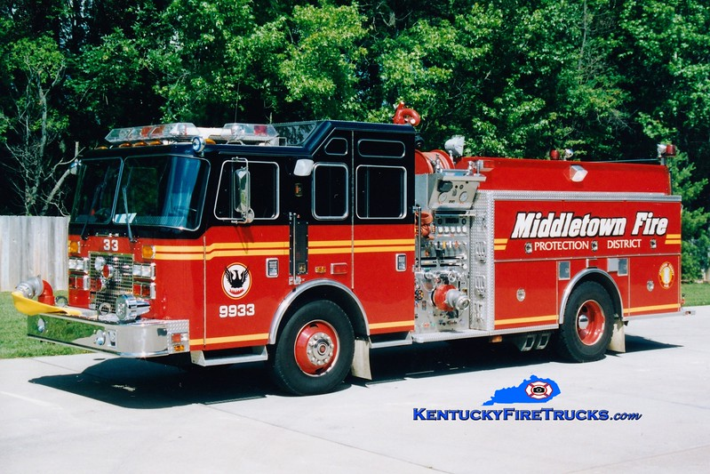 <center> RETIRED <br> Middletown  Engine 9933 <br> 1994 KME Renegade 1500/750 <br> Greg Stapleton photo </center>