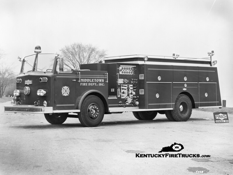 RETIRED<br /> Middletown Quad 9943<br /> 1964 Ford/Pirsch 1000/500/Quad<br /> Kent Parrish collection