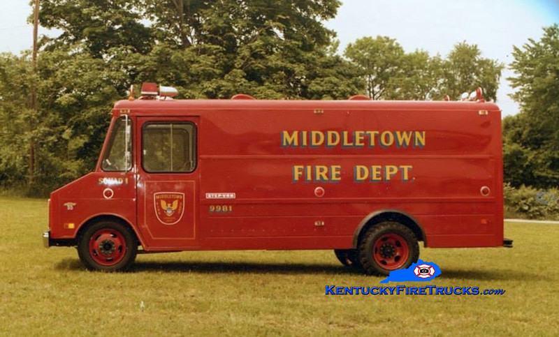 RETIRED<br /> Middletown Rescue 9981<br /> 1974 Chevy<br /> Kent Parrish collection/MFD