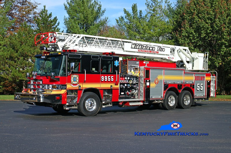 NOW WITH ANCHORAGE MIDDLETOWN <br /> Middletown  Quint 9955<br /> 2015 Pierce Quantum 1500/500/30/105' <br /> Kent Parrish photo
