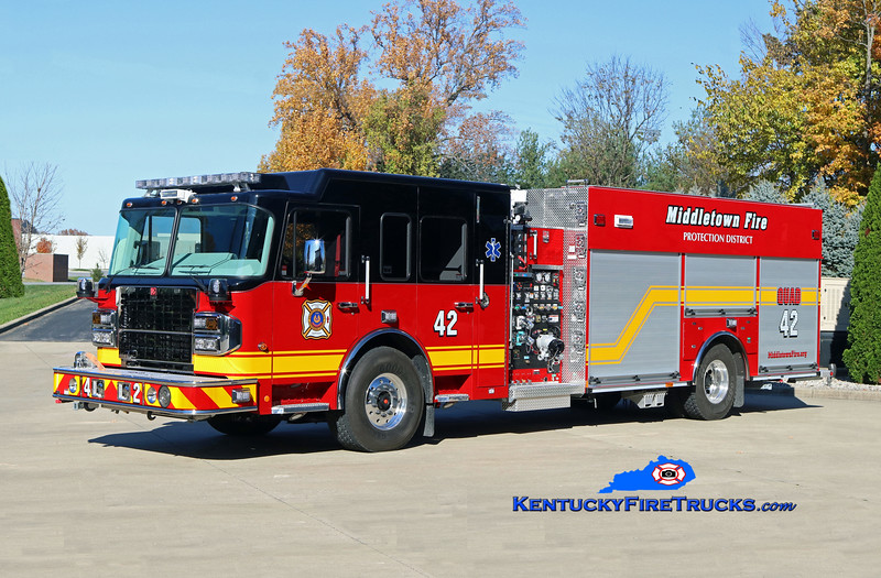 NOW WITH ANCHORAGE MIDDLETOWN <br /> Middletown  Quad 9942<br /> 2017 Spartan Gladiator/Smeal 1500/500/20<br /> Kent Parrish photo