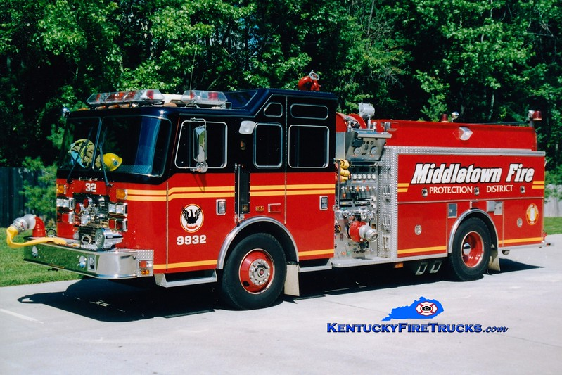 <center> RETIRED <br> Middletown  Engine 9932 <br> 1994 KME Renegade 1500/750 <br> Greg Stapleton photo </center>