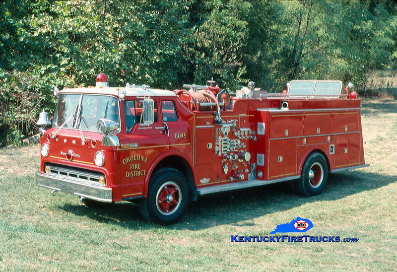 RETIRED <br /> Okolona Quad 8045 <br /> x-Quad 85 <br /> 1969 Ford C-850/American 1000/500<br /> Kent Parrish collection