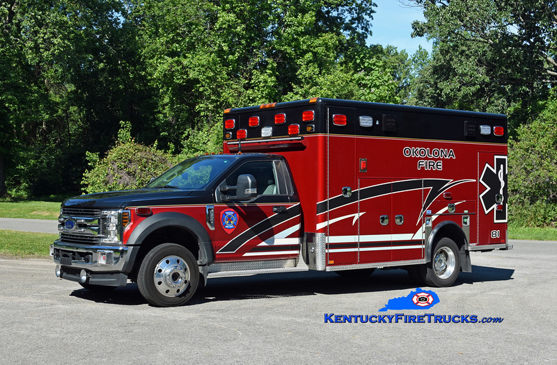 Okolona Med 8081<br /> 2020 Ford F-550 4x4/Horton<br /> Kent Parrish photo