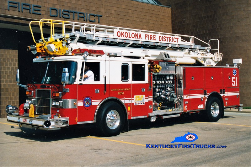 REASSIGNED <br /> Okolona TeleSqurt 8051<br /> 1993 Pierce Lance 1750/500/65' TeleSqurt <br /> Greg Stapleton photo