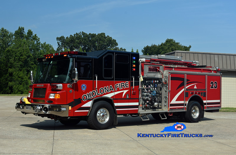 Okolona Reserve Engine 8023<br /> x-Engine 8031 and 8030  <br /> 2001 Pierce Quantum 2000/500/CAFS-30 <br /> Kent Parrish photo