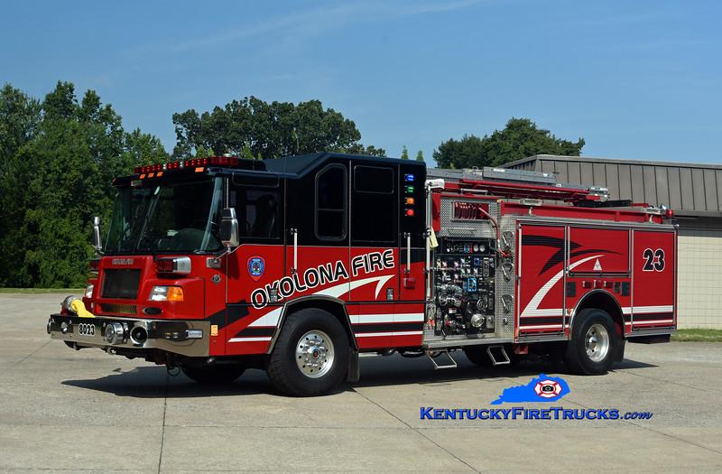 Okolona Reserve Engine 8023<br /> x-Engine 8031 and 8030  <br /> 2001 Pierce Quantum 2000/500/CAFS-30 <br /> Kent Parrish photo