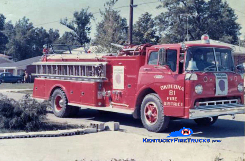 RETIRED<br /> Okolona Quad 81<br /> 1963 Ford C/American 1000/500<br /> Kent Parrish collection
