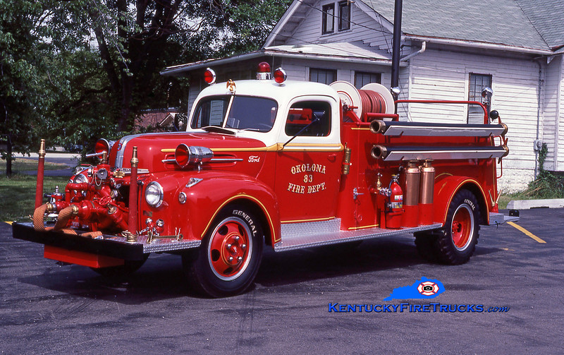 ANTIQUE<br /> Okolona Engine 8083<br /> 1947 Ford V-6/American Barton/Local 500/500<br /> Kent Parrish collection