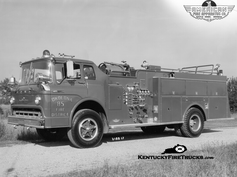 RETIRED <br /> Okolona Quad 85<br /> 1969 Ford C-850/American 1000/500<br /> Kent Parrish collection