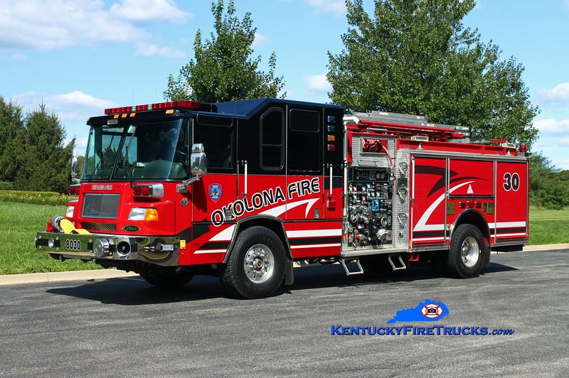 Okolona  Engine 8030<br /> 2001/2016 Pierce Quantum 2000/500/CAFS-30<br /> Kent Parrish photo