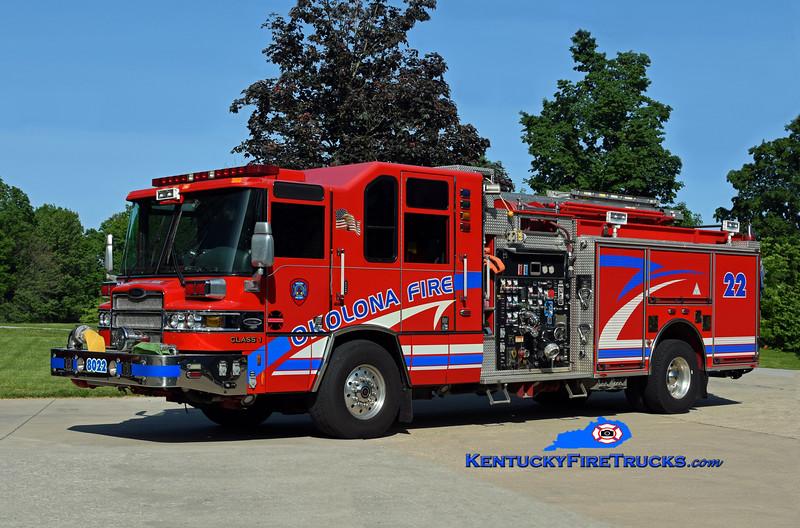 Okolona Reserve Engine 8022<br /> x-Engine 8033  <br /> 2005 Pierce Quantum 2000/500/CAFS/30 <br /> Kent Parrish photo