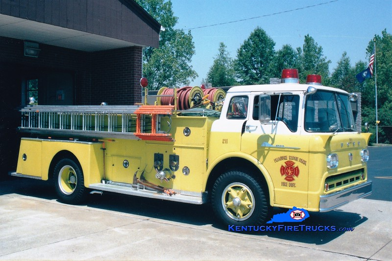 RETIRED <br /> Pleasure Ridge Park  Engine 211<br /> 1959 Ford C-750/Pirsch 750/500<br /> Greg Stapleton photo