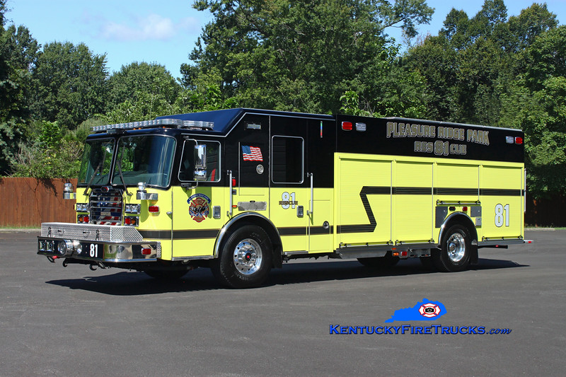 REASSIGNED <br /> Pleasure Ridge Park  Engine 2231<br /> 2016 KME Severe Service 1500/500/50<br /> Kent Parrish photo