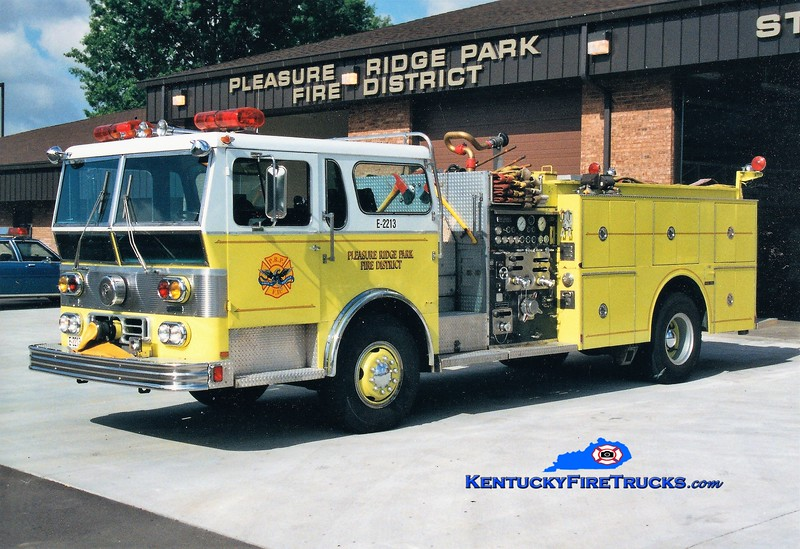 RETIRED <br /> Pleasure Ridge Park  Engine 2213<br /> 1978 Ward LaFrance Ambassador 1750/500/Quad<br /> Greg Stapleton photo