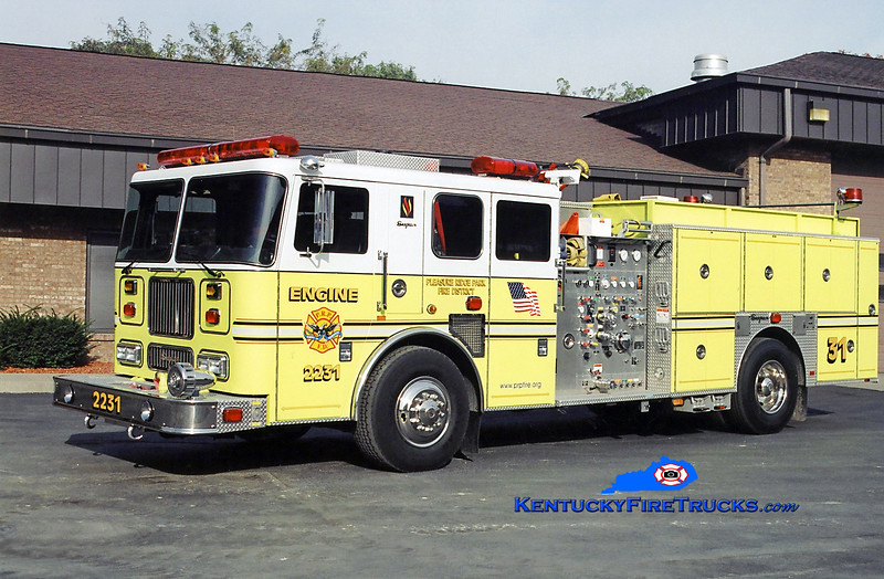 AUXILIARY ENGINE <br /> Pleasure Ridge Park  Engine 2231<br /> 2003 Seagrave Marauder 1500/750/50<br /> Kent Parrish photo