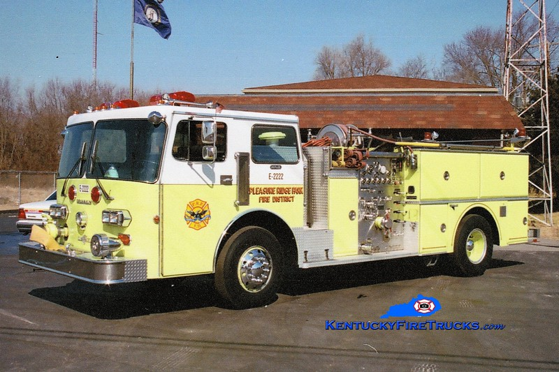 RETIRED <br /> Pleasure Ridge Park  Engine 2222<br /> 1982 Duplex D-350/Grumman 1250/750<br /> Greg Stapleton photo