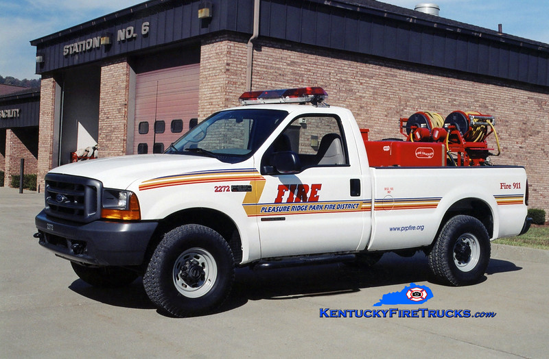 Pleasure Ridge Park Forestry 2272<br /> 1999 Ford F-350 4x4/Marco 150/200<br /> Kent Parrish photo