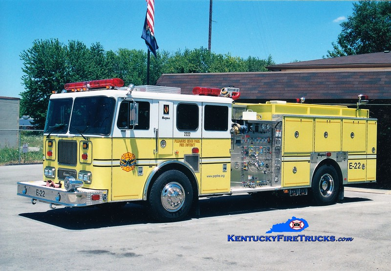 AUXILIARY ENGINE <br /> Pleasure Ridge Park  Engine 2222<br /> 2000 Seagrave Marauder 1500/750/50<br /> Greg Stapleton photo